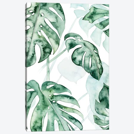 Split Leaf II Canvas Print #POP571} by Grace Popp Canvas Artwork