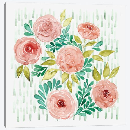 Spring Blossoming I Canvas Print #POP572} by Grace Popp Canvas Artwork