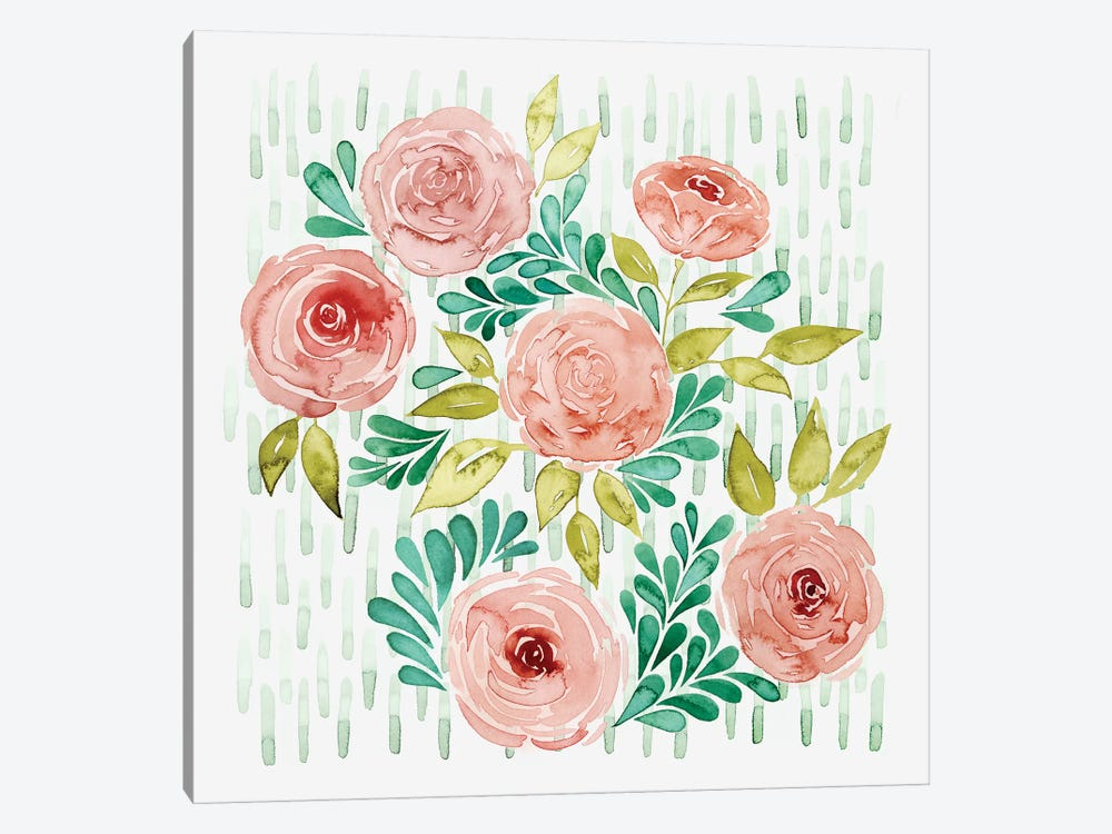 Spring Blossoming I by Grace Popp 1-piece Canvas Print