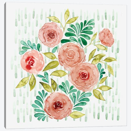 Spring Blossoming II Canvas Print #POP573} by Grace Popp Canvas Artwork