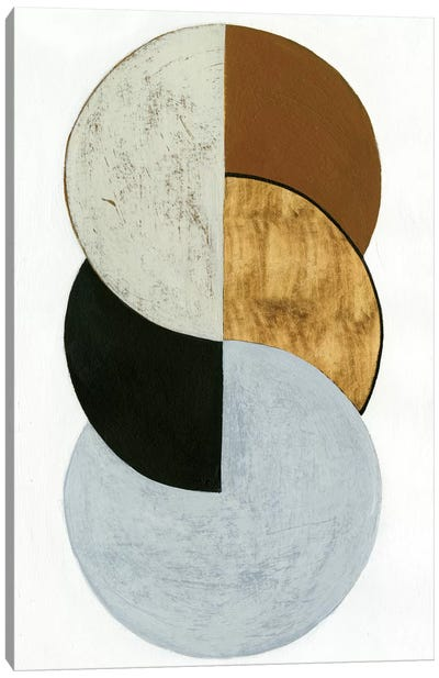 Stacked Coins I Canvas Art Print
