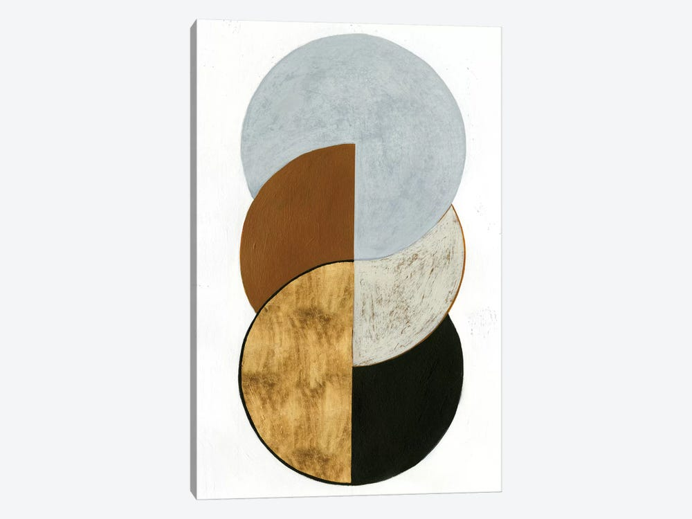 Stacked Coins II by Grace Popp 1-piece Canvas Art