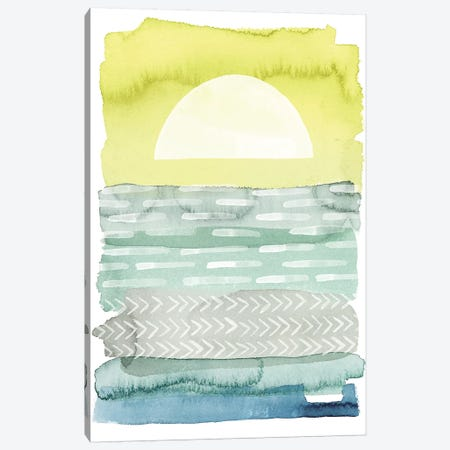 Sunrise Sea I Canvas Print #POP578} by Grace Popp Canvas Wall Art