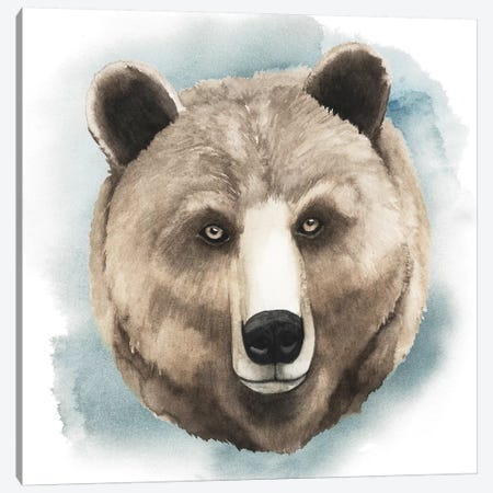 Greenwood Animals IV Canvas Print #POP57} by Grace Popp Art Print