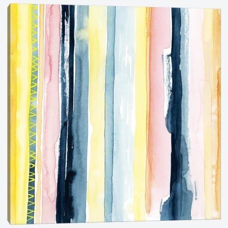 Sunset Stream I 3-Piece Canvas #POP580} by Grace Popp Canvas Art Print