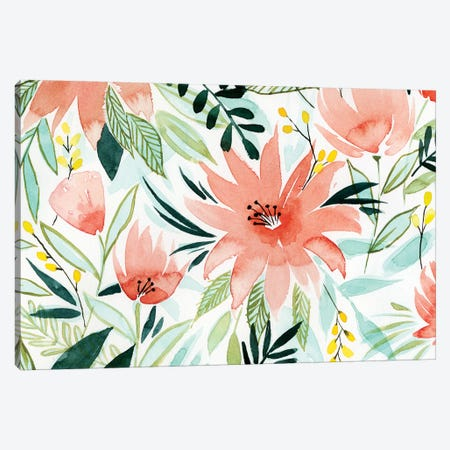 Tropical Drift I Canvas Print #POP586} by Grace Popp Canvas Wall Art