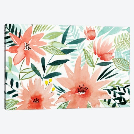 Tropical Drift II Canvas Print #POP587} by Grace Popp Canvas Wall Art