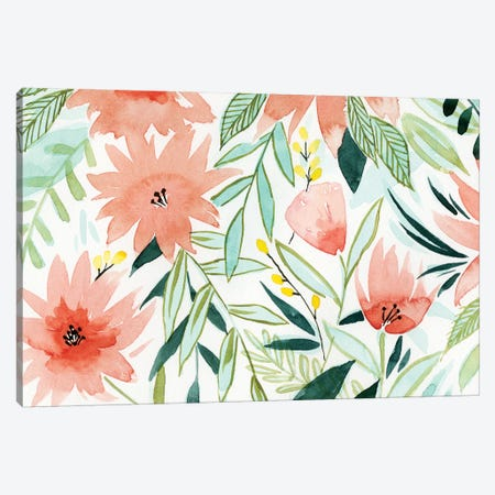Tropical Drift III Canvas Print #POP588} by Grace Popp Art Print