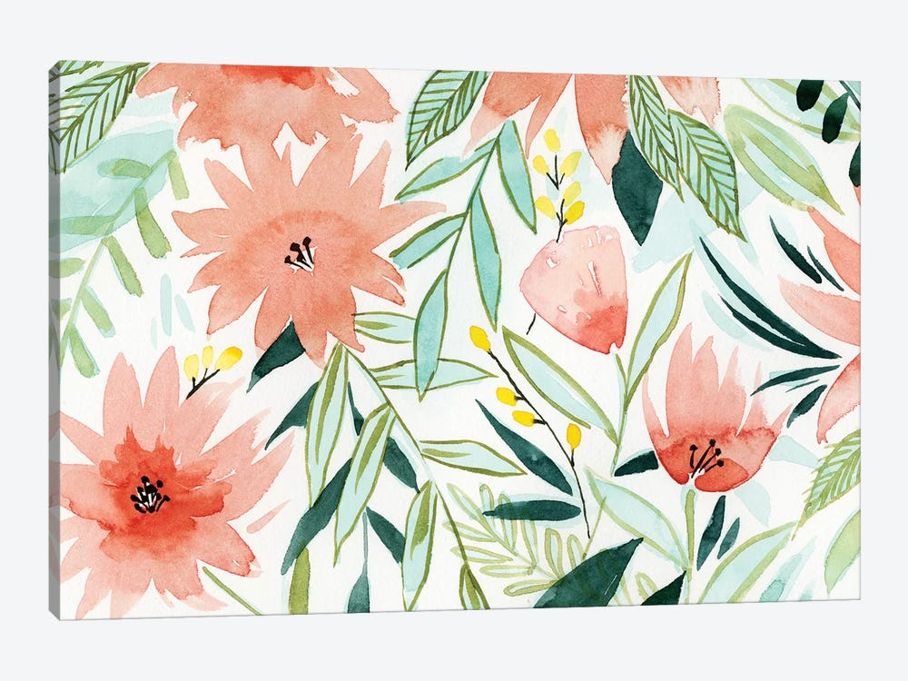 Tropical Drift III by Grace Popp 1-piece Canvas Wall Art