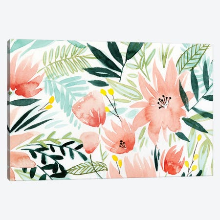 Tropical Drift IV Canvas Print #POP589} by Grace Popp Art Print