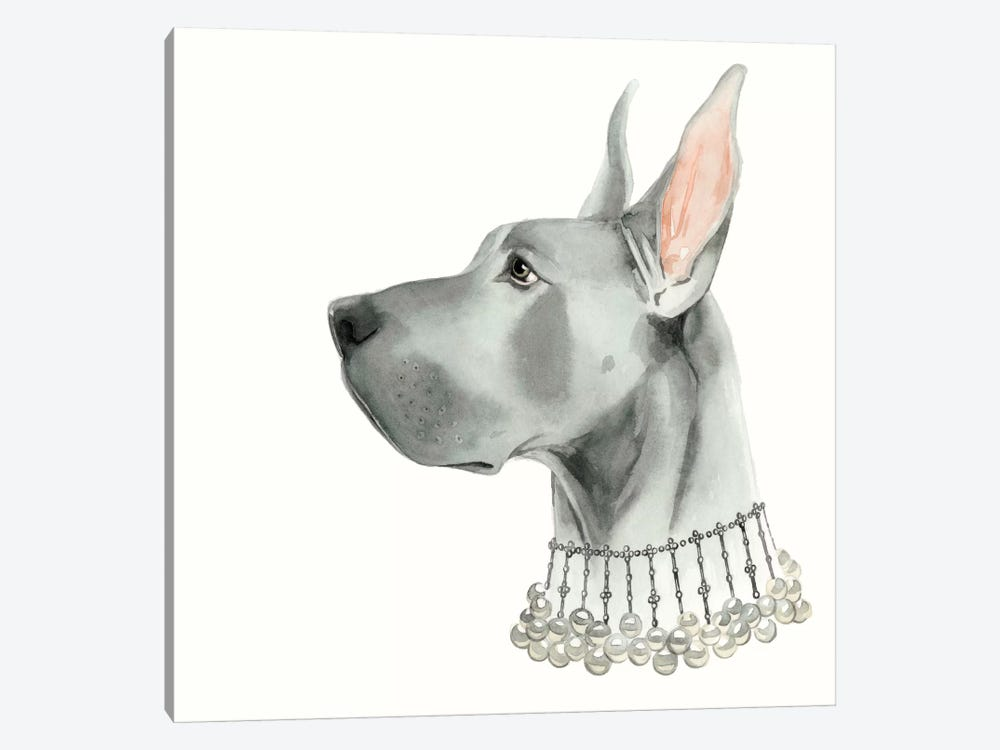 Haute Hounds I by Grace Popp 1-piece Canvas Print