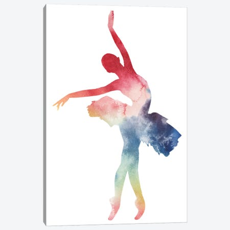 Ballerina Beam I Canvas Print #POP606} by Grace Popp Canvas Print