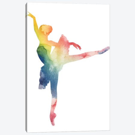 Ballerina Beam II Canvas Print #POP607} by Grace Popp Canvas Print