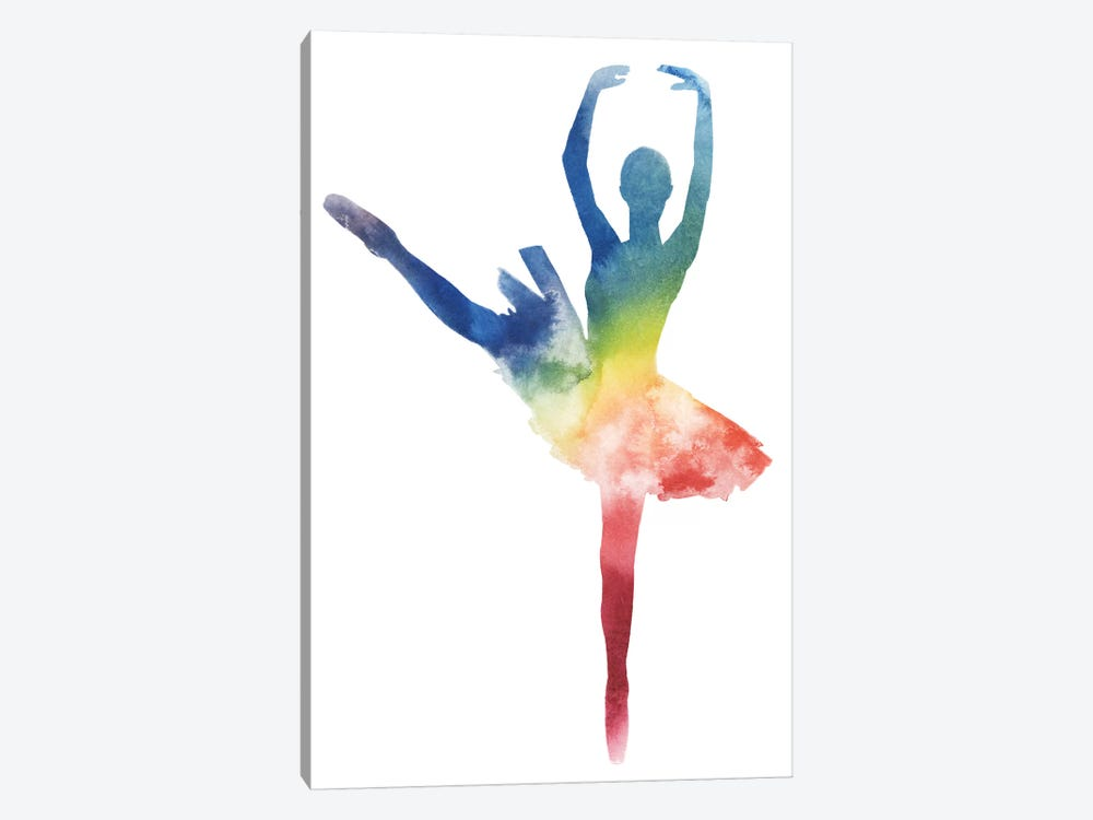 Ballerina Beam III by Grace Popp 1-piece Canvas Art