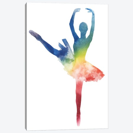 Ballerina Beam III Canvas Print #POP608} by Grace Popp Canvas Artwork