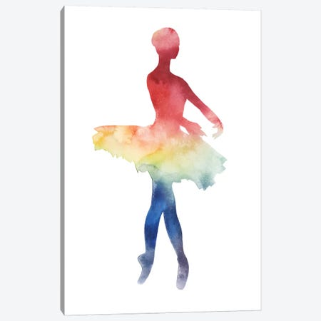 Ballerina Beam IV Canvas Print #POP609} by Grace Popp Canvas Art