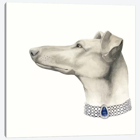 Haute Hounds III Canvas Print #POP60} by Grace Popp Art Print