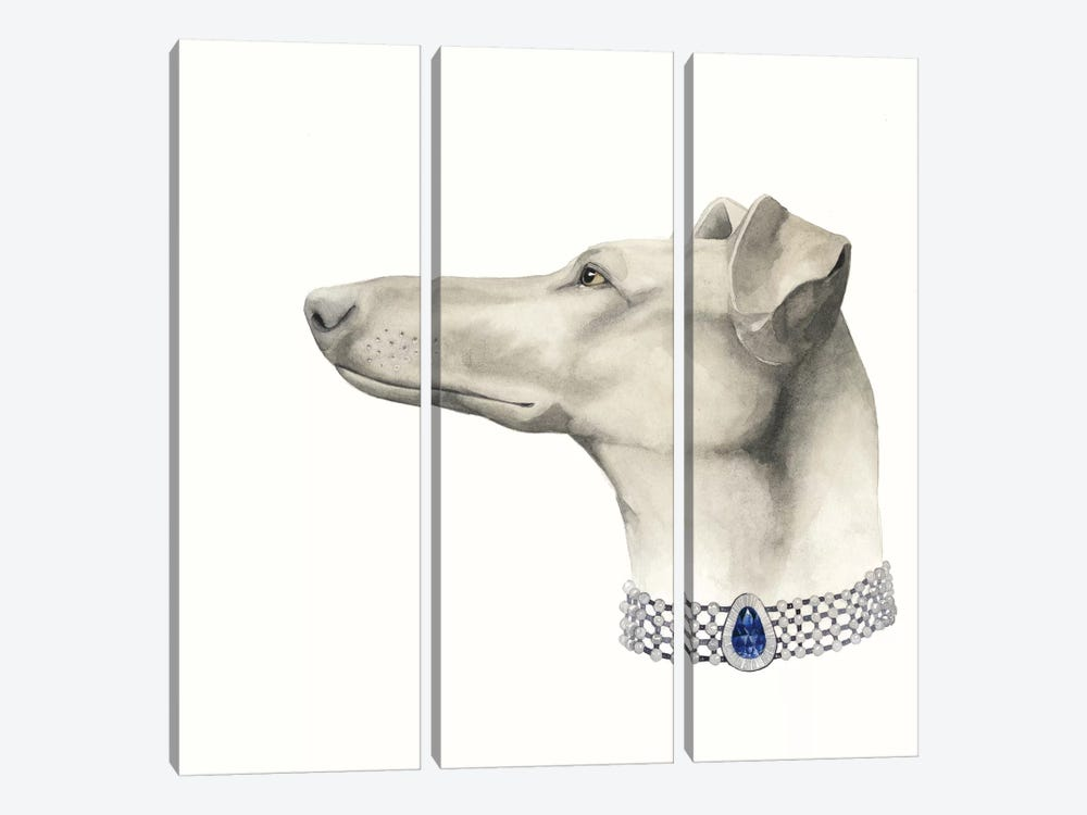 Haute Hounds III by Grace Popp 3-piece Canvas Artwork