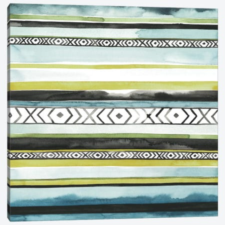 Blanket Abstract I 3-Piece Canvas #POP612} by Grace Popp Canvas Print