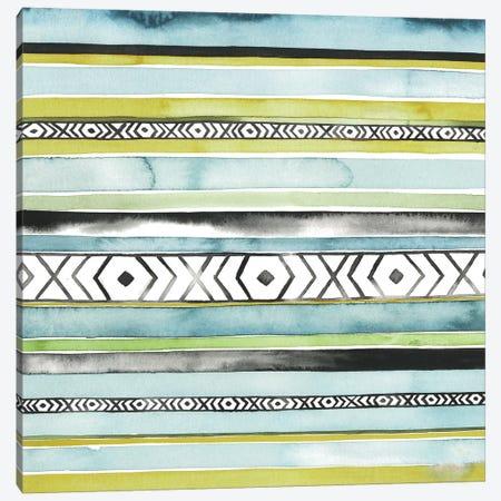 Blanket Abstract II 3-Piece Canvas #POP613} by Grace Popp Canvas Art Print