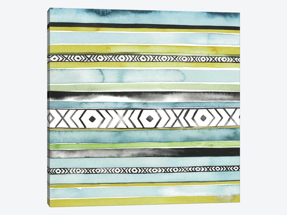 Blanket Abstract II by Grace Popp 1-piece Canvas Artwork