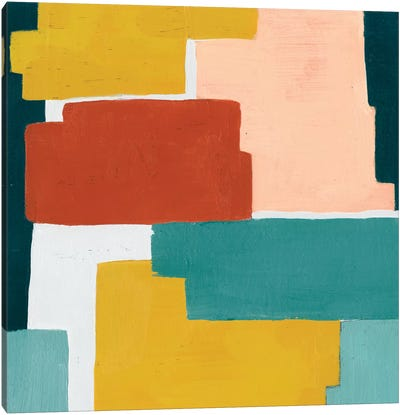 Block Abstract I Canvas Art Print