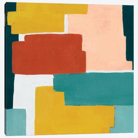 Block Abstract I Canvas Print #POP614} by Grace Popp Canvas Art