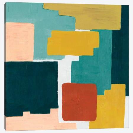 Block Abstract II Canvas Print #POP615} by Grace Popp Canvas Wall Art