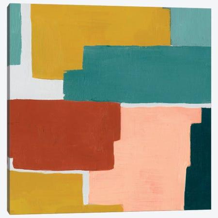 Block Abstract IV Canvas Print #POP617} by Grace Popp Canvas Artwork