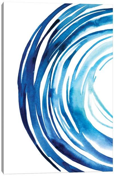 Blue Vortex I Canvas Art Print