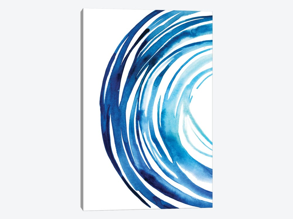 Blue Vortex I 1-piece Canvas Print