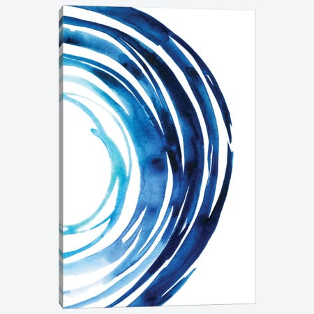 Blue Vortex II Canvas Print #POP619} by Grace Popp Canvas Print