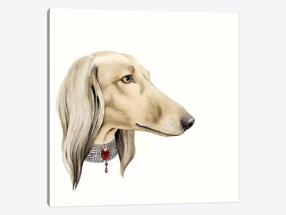 Haute Hounds IV 1-piece Canvas Art Print
