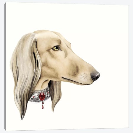 Haute Hounds IV Canvas Print #POP61} by Grace Popp Art Print