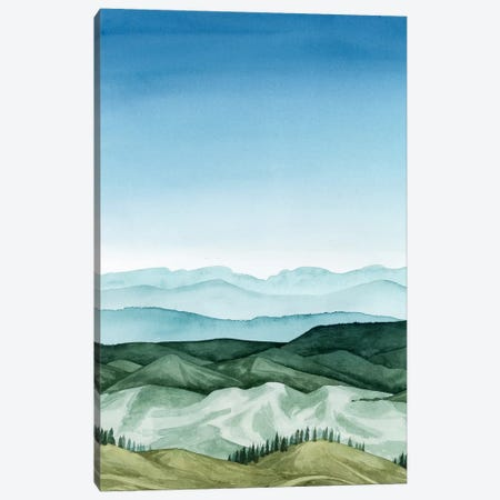 Crystal Landscape I Canvas Print #POP632} by Grace Popp Art Print