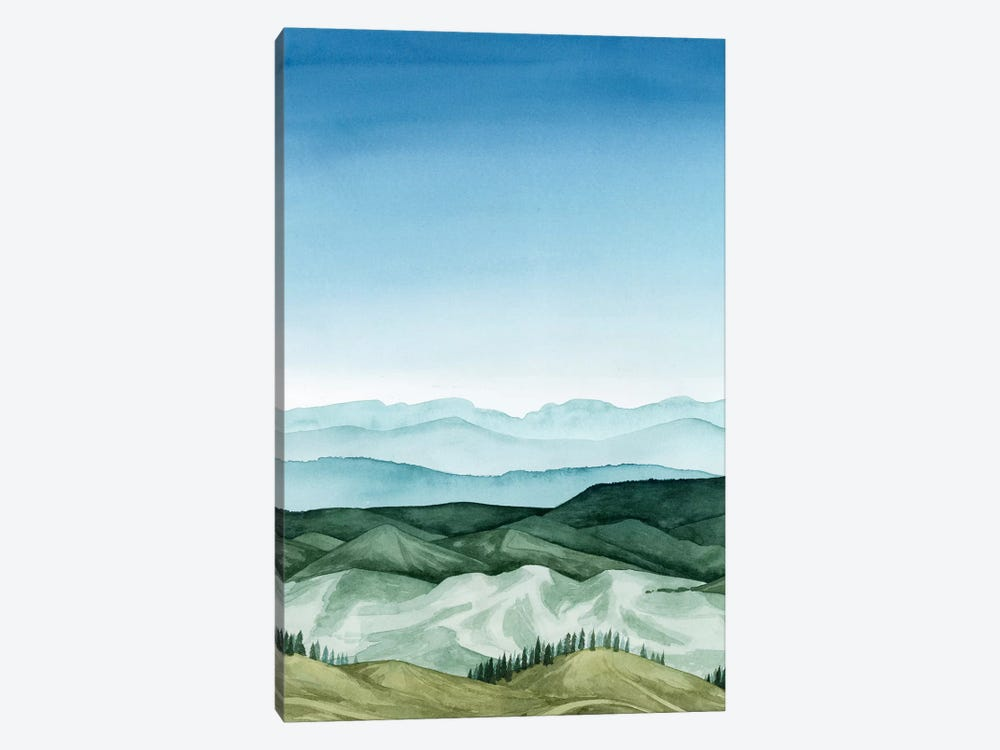 Crystal Landscape I by Grace Popp 1-piece Canvas Print