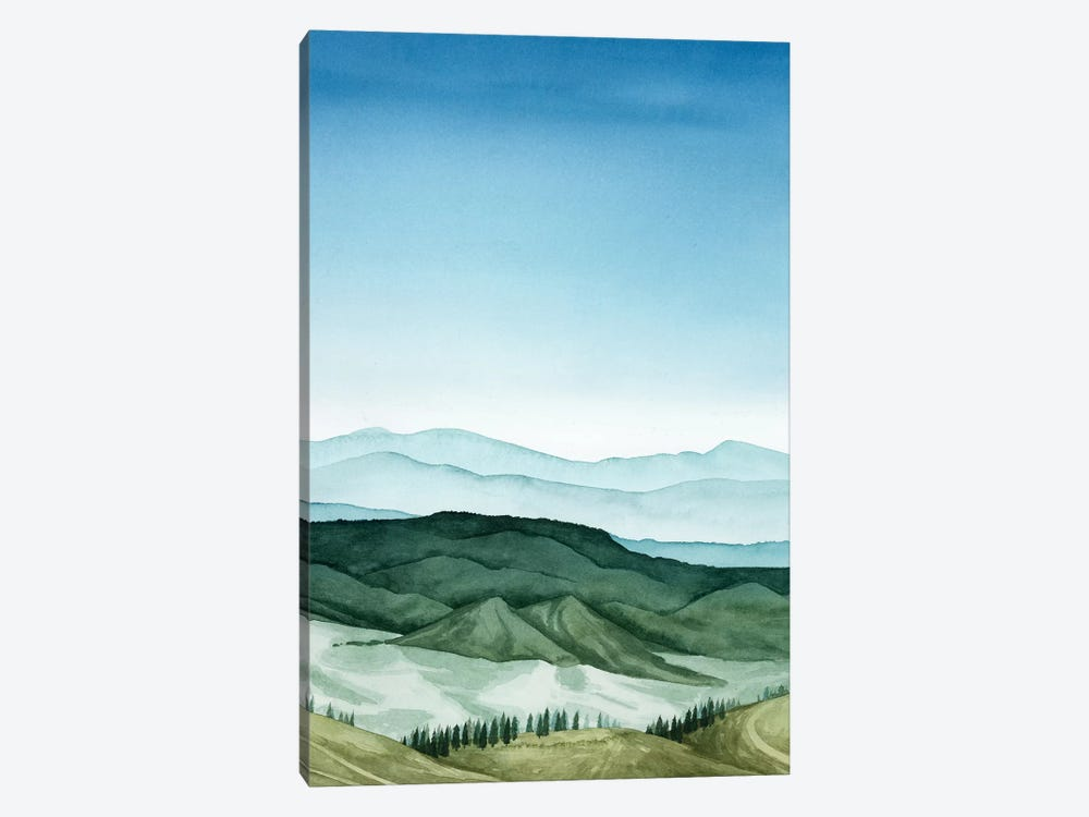 Crystal Landscape II 1-piece Canvas Artwork