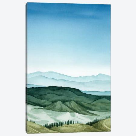 Crystal Landscape II Canvas Print #POP633} by Grace Popp Canvas Art Print