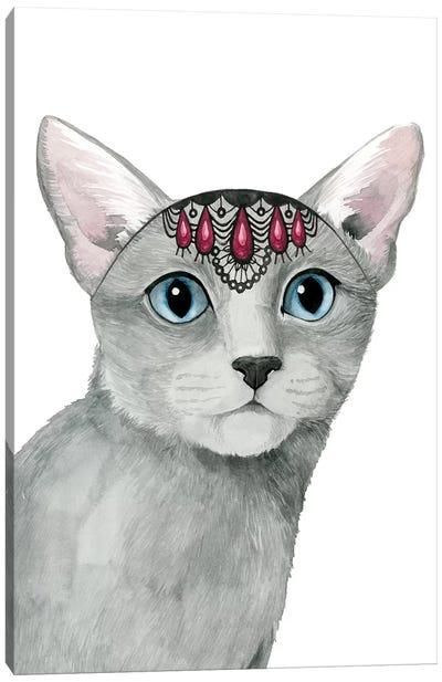 Downton Cat I Canvas Art Print