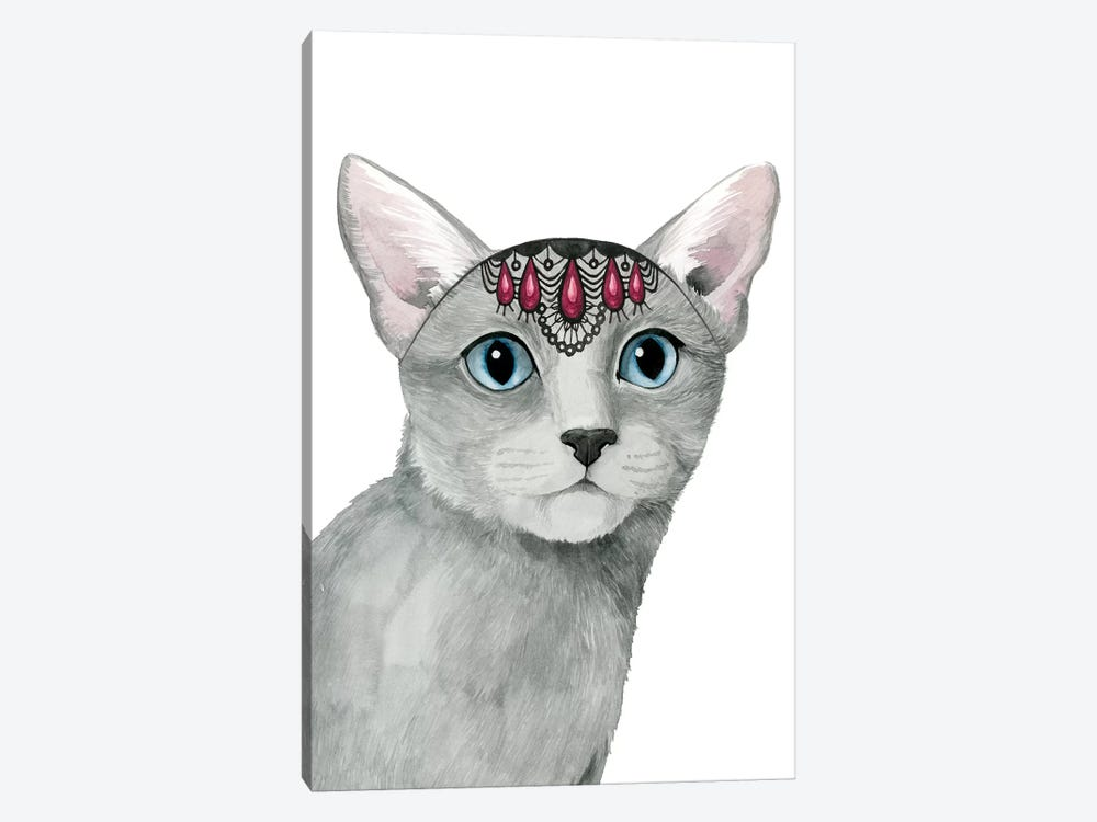 Downton Cat I by Grace Popp 1-piece Art Print