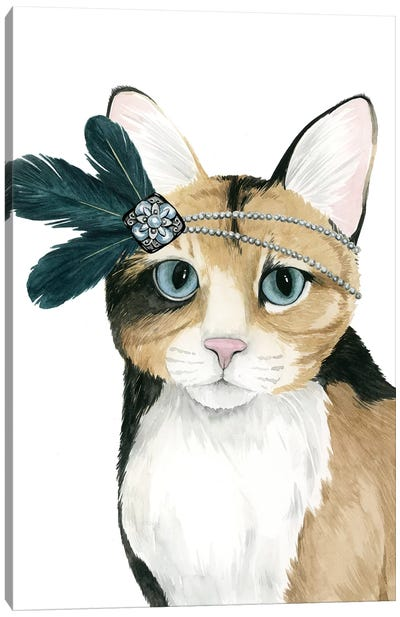 Downton Cat II Canvas Art Print