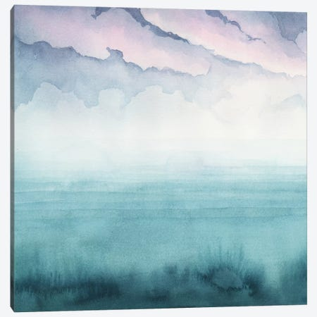Dusk On The Bay I Canvas Print #POP638} by Grace Popp Art Print