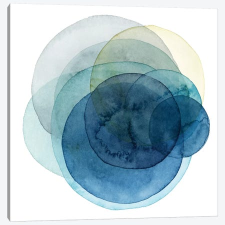 Evolving Planets I Canvas Print #POP640} by Grace Popp Canvas Art