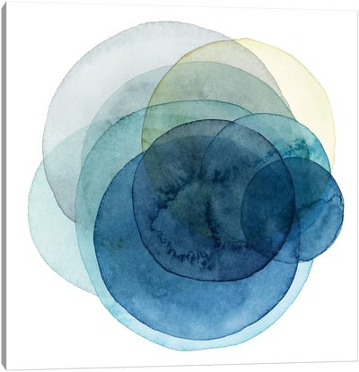 Evolving Planets I Canvas Art Print