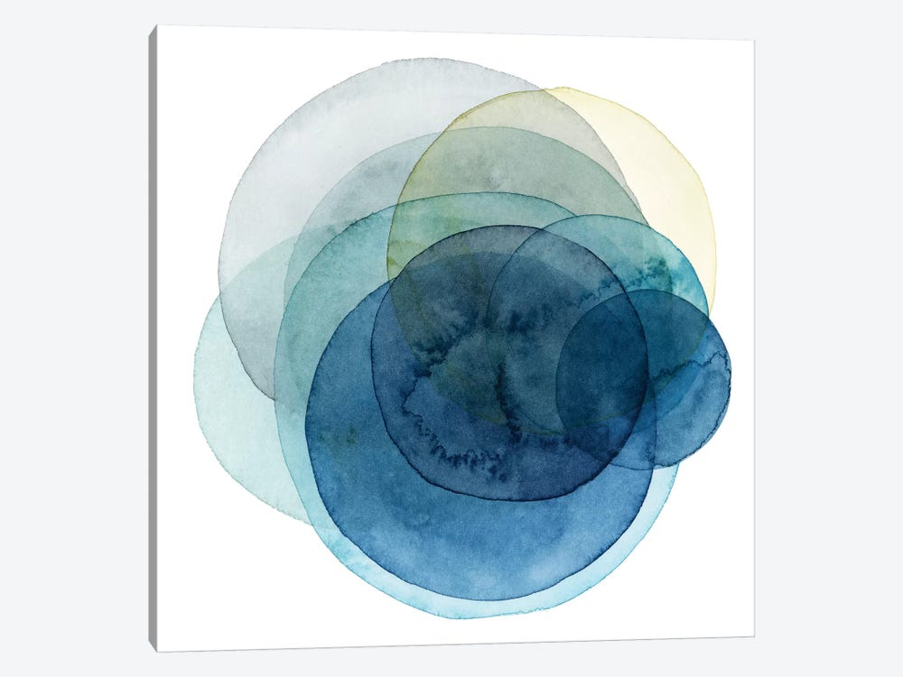 Evolving Planets I by Grace Popp 1-piece Canvas Art