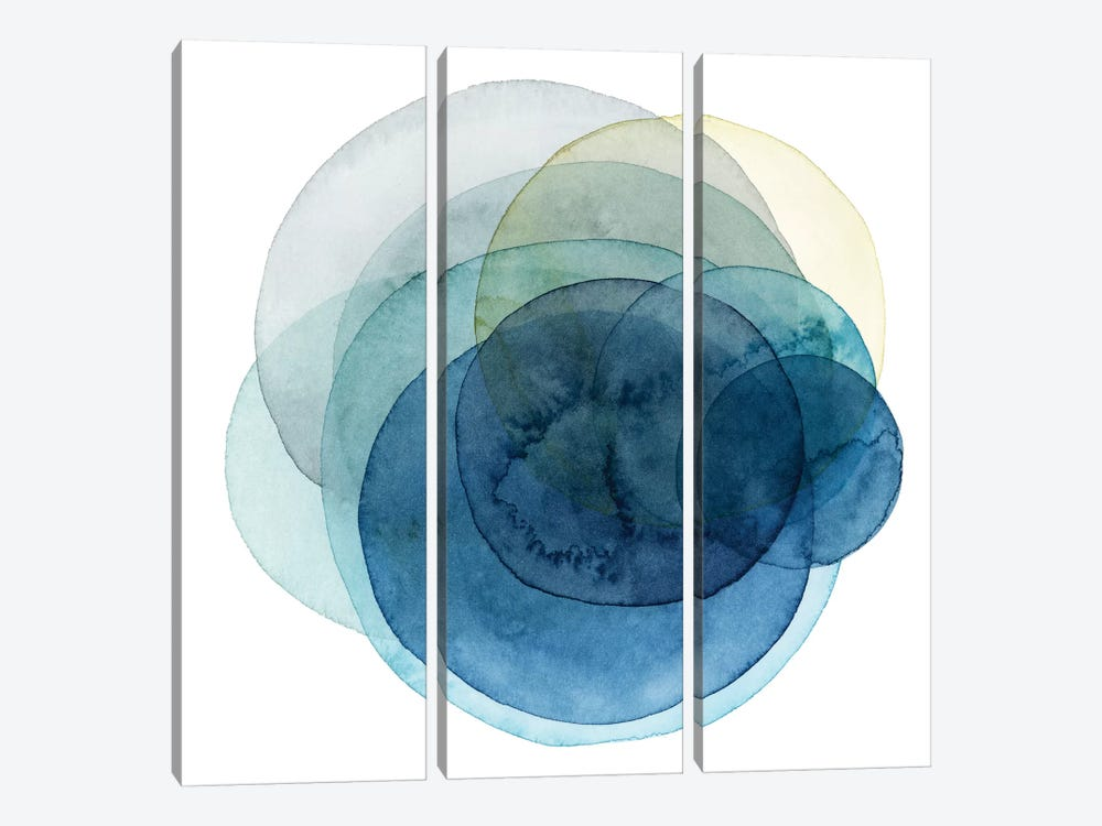 Evolving Planets I by Grace Popp 3-piece Canvas Art