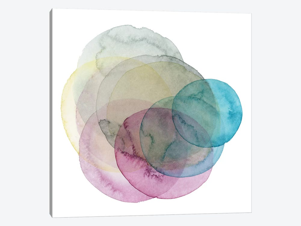 Evolving Planets II by Grace Popp 1-piece Canvas Print