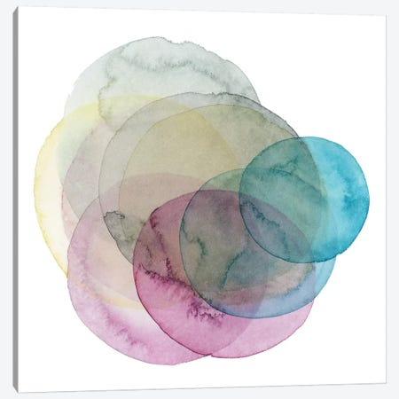 Evolving Planets II 3-Piece Canvas #POP641} by Grace Popp Canvas Wall Art