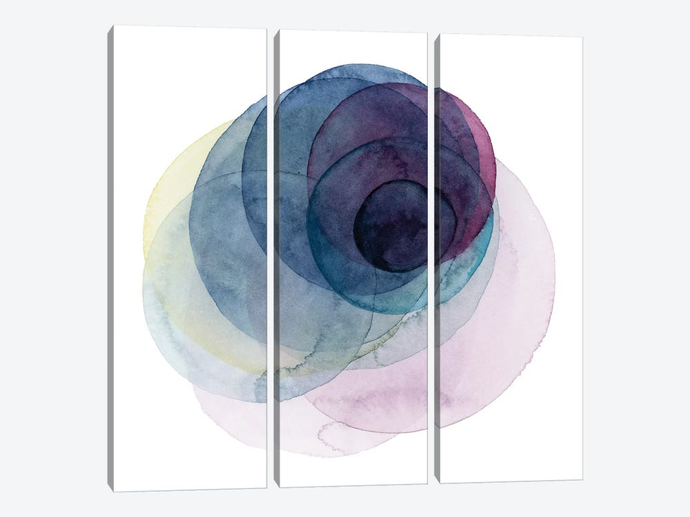 Evolving Planets III by Grace Popp 3-piece Canvas Art