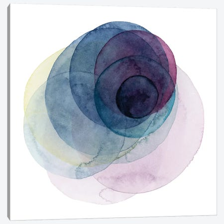 Evolving Planets III Canvas Print #POP642} by Grace Popp Canvas Wall Art
